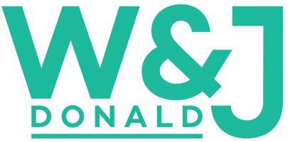 W & J Donald Logo Green